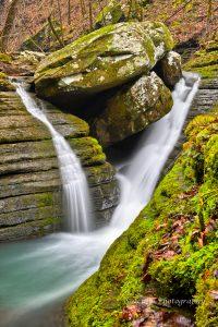 V-Slot Falls, Ozark National Forest, Johnson Co, AR