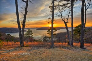Sunset at Beaver Lake, Eureka Springs, AR
