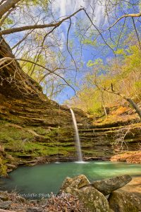 Compton's Double Falls, Upper Buffalo Wilderness, AR