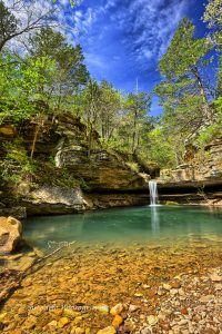 Paige Falls, Ozark National Forest, Newton County, AR