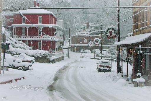 Christmas in Eureka Springs, AR