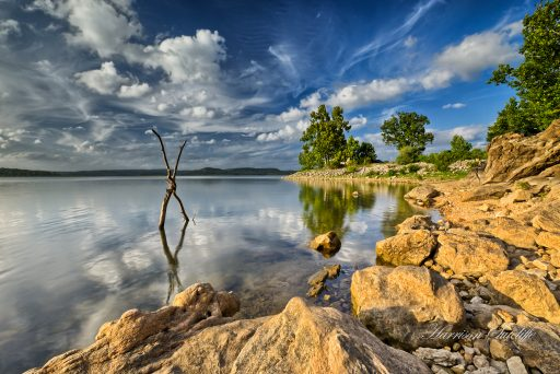 X marks the spot - Beaver Lake, AR