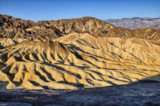 Eroded chocolate - Zabrisky Point - Death Valley NP, CA